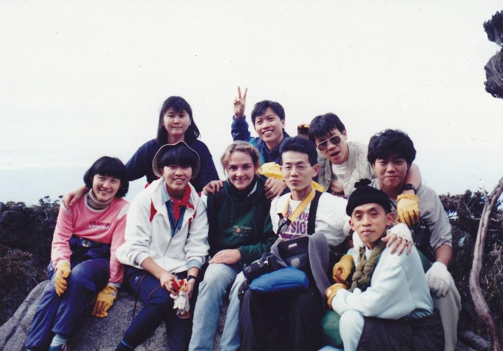 キナバル山 1991