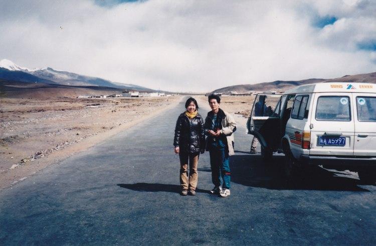ナムツォ湖への道中 1999